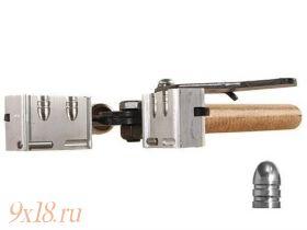 """Пулелейка ручная Lee (США) калибр 7,92 мм - .311"""", два гнезда, вес пули 93 грана (6.02 грамма)"""
